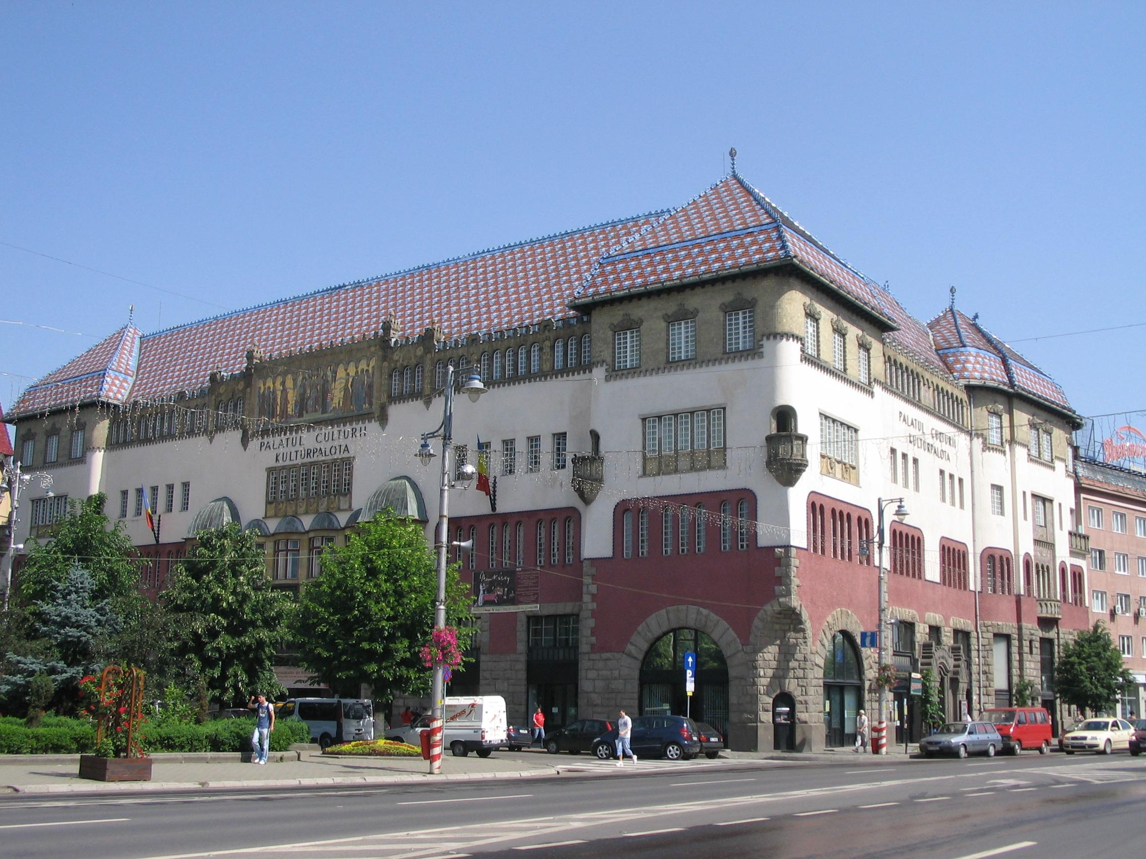 Targu Mures Romania  City new picture : Palatul Culturii Targu Mures Wikipedia, the free ...