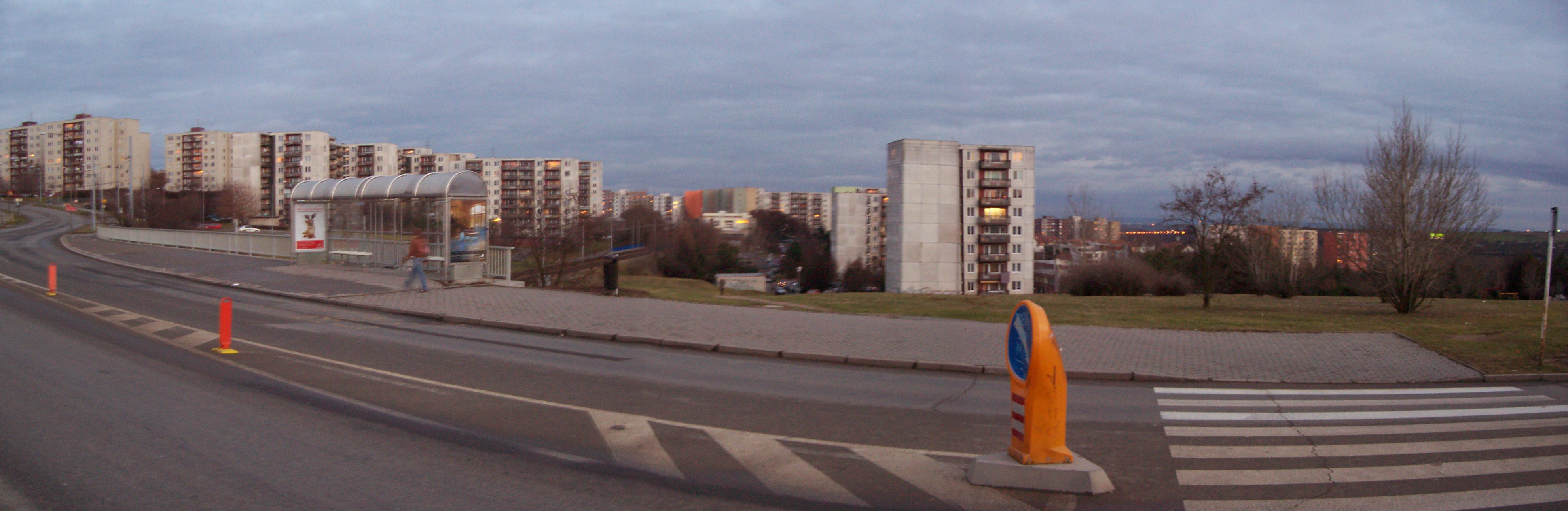 Panorama of Brno-Bohunice district.jpg