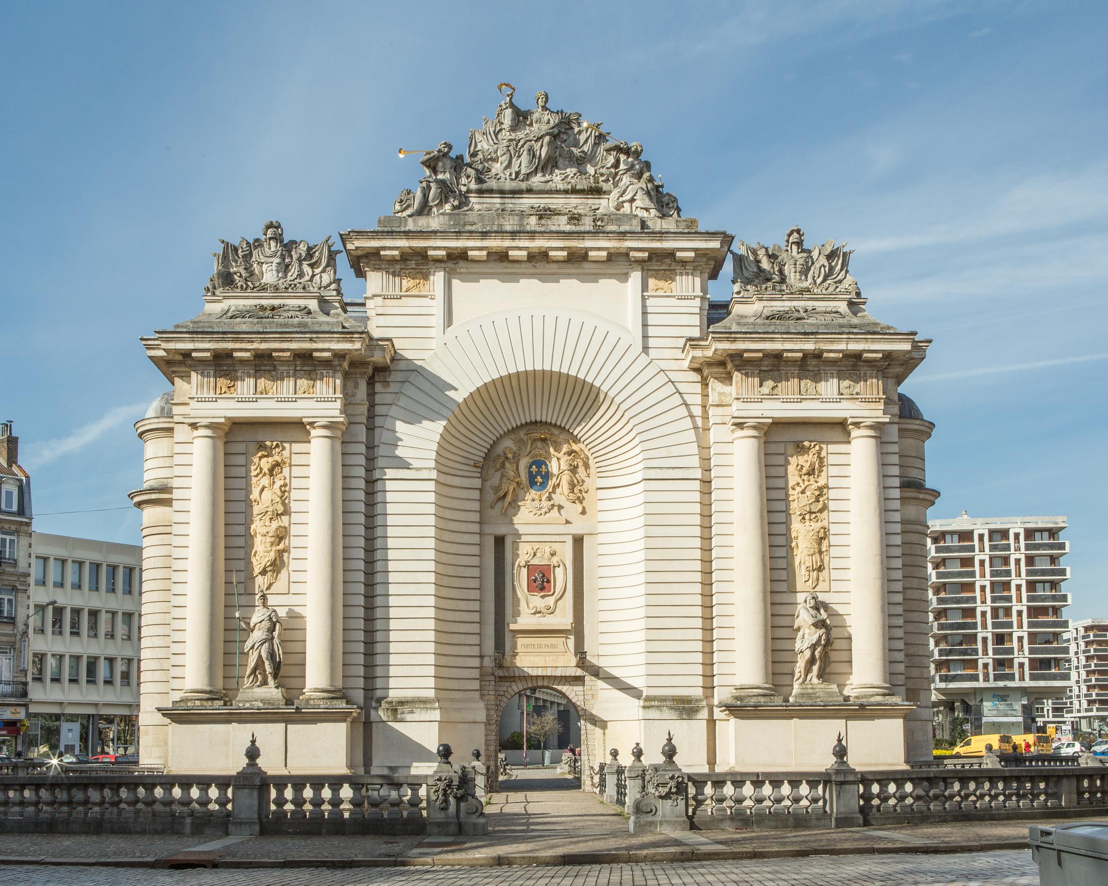 Porte De Paris Rijsel Wikipedia