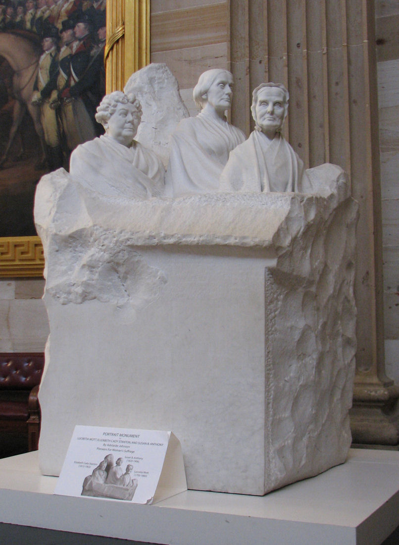 The Portrait Monument, U.S. Capitol