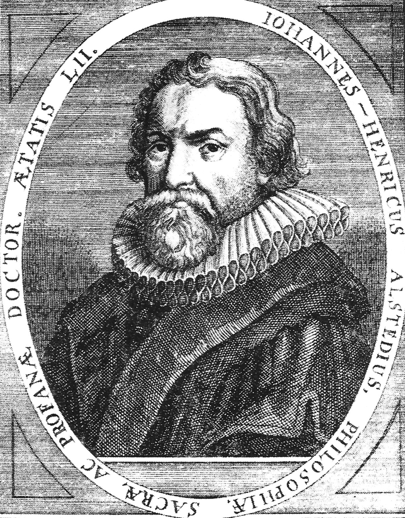 Johann Heinrich Alsted.
