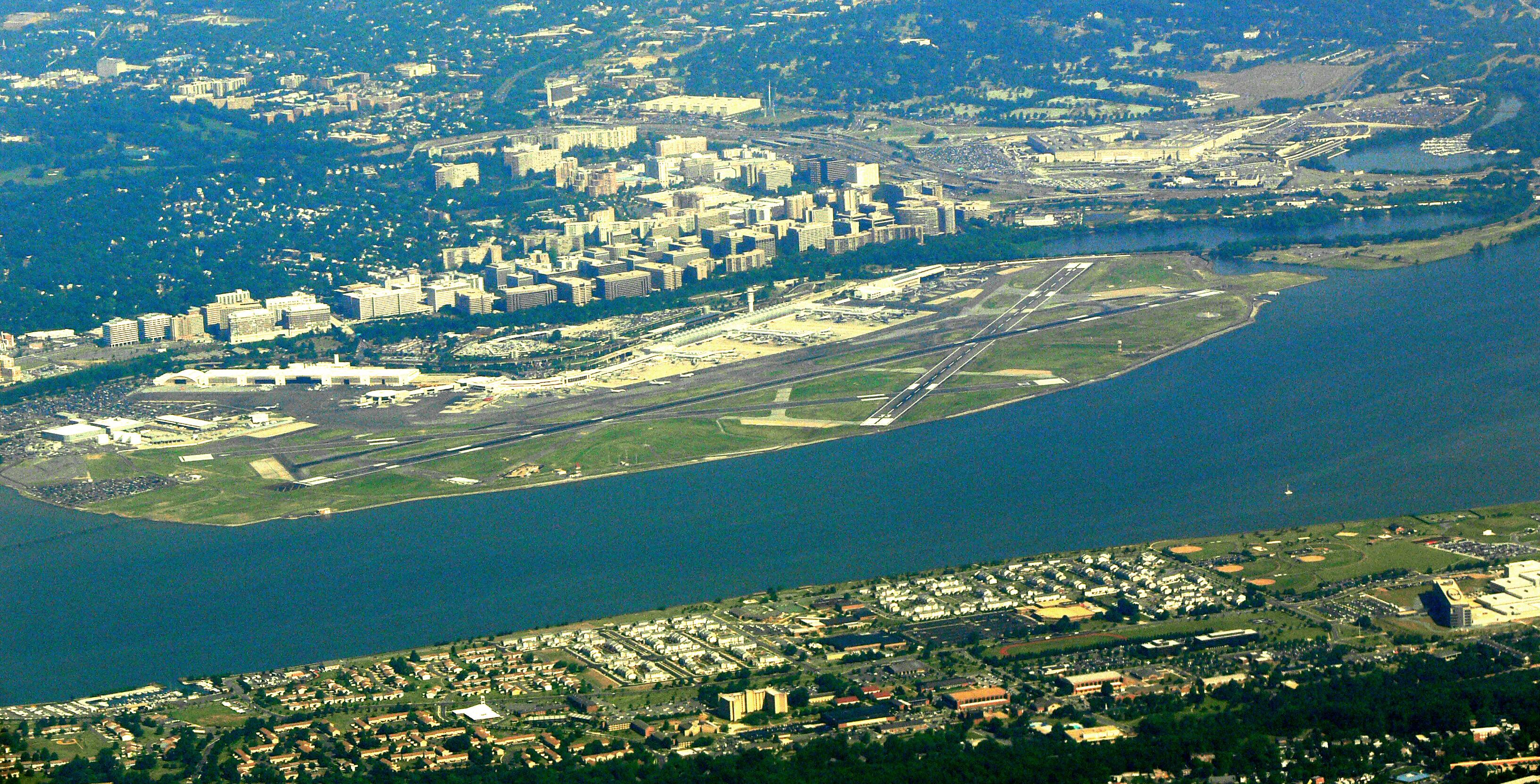 Reagan National Airport Rental Car Location