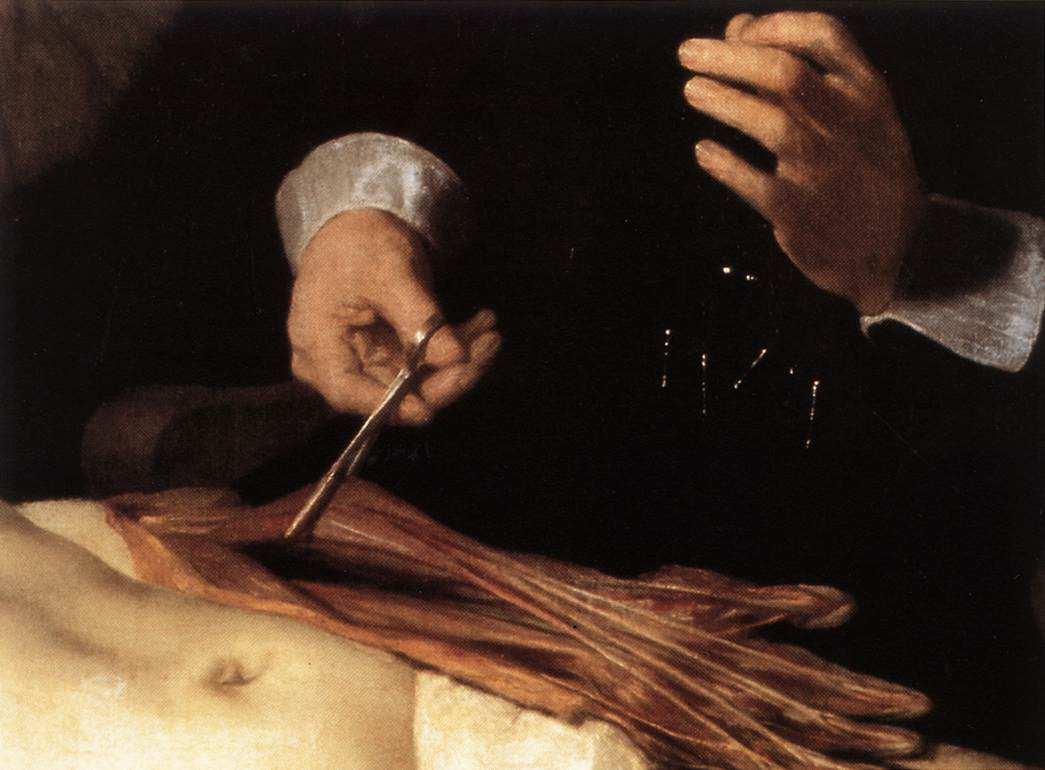 File:Rembrandt - The Anatomy Lecture of Dr. Nicolaes Tulp (detail ...
