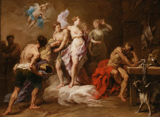 Restout - Venus Ordering Arms from Vulcan for Aeneas
