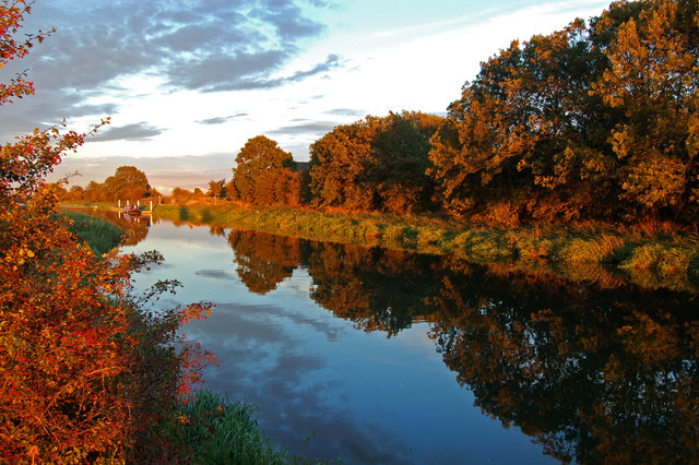 River Witham Reflection - geograph.org.uk - 624783