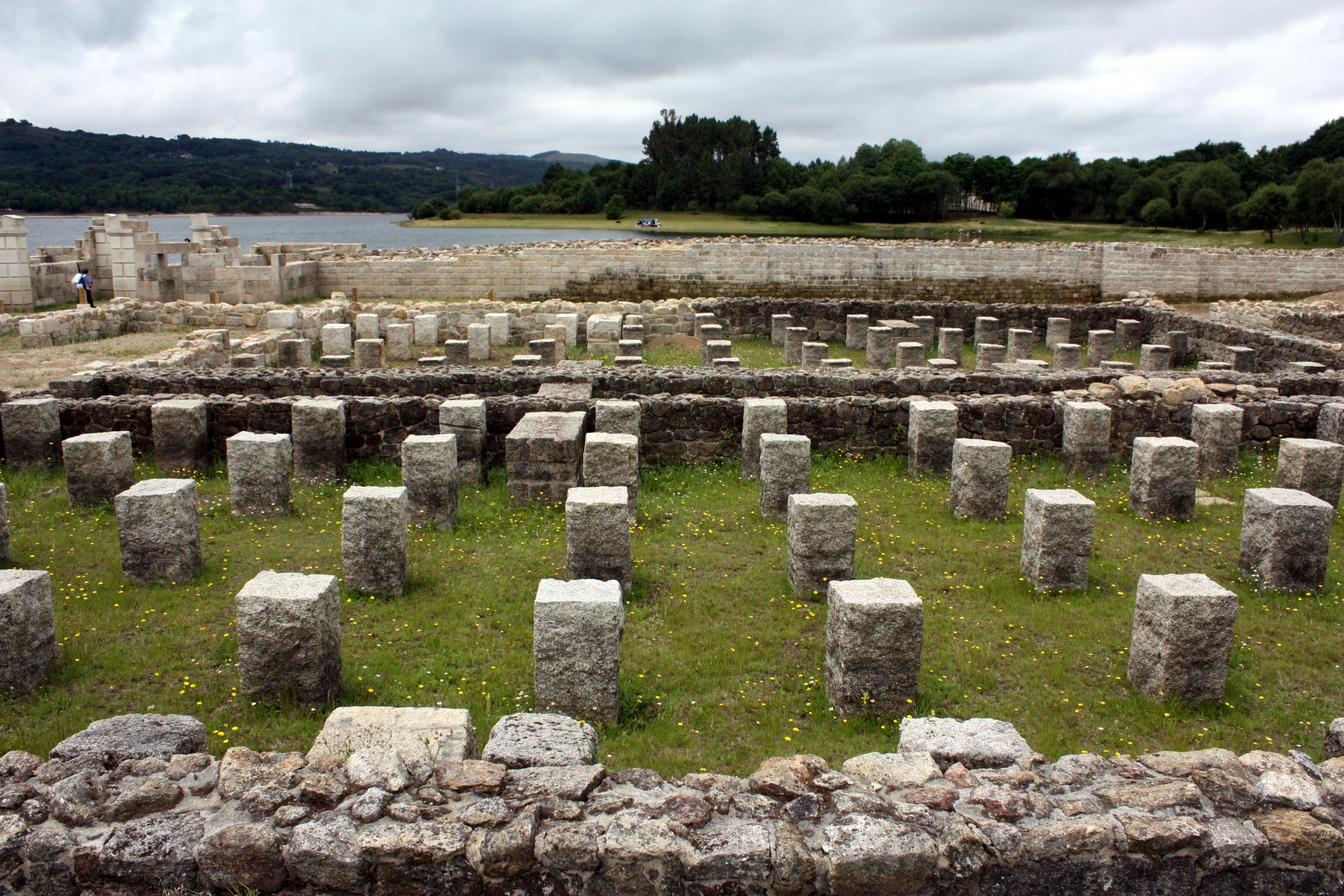 Captivating File:Roman Camp Aquis Querquennis, Baños De Bande, Ourense, Galicia 30