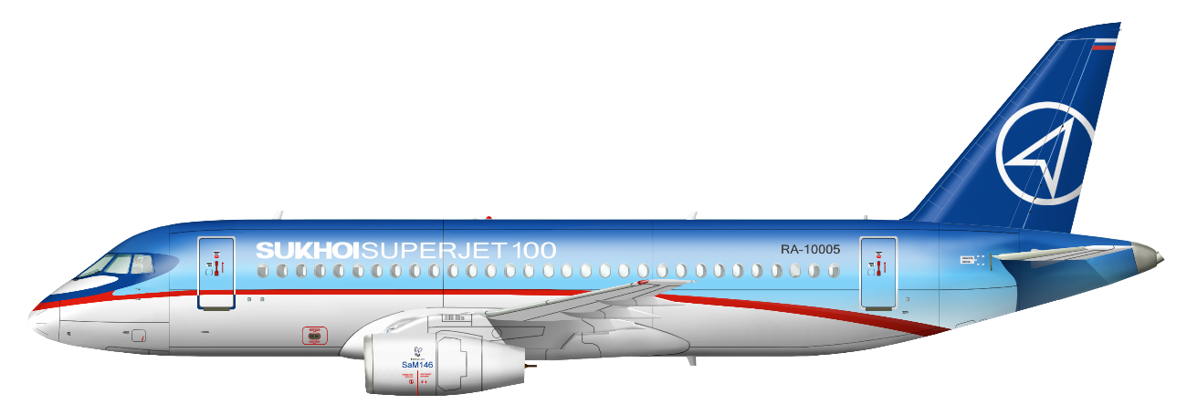 Resultado de imagen para SSJ-100 logo