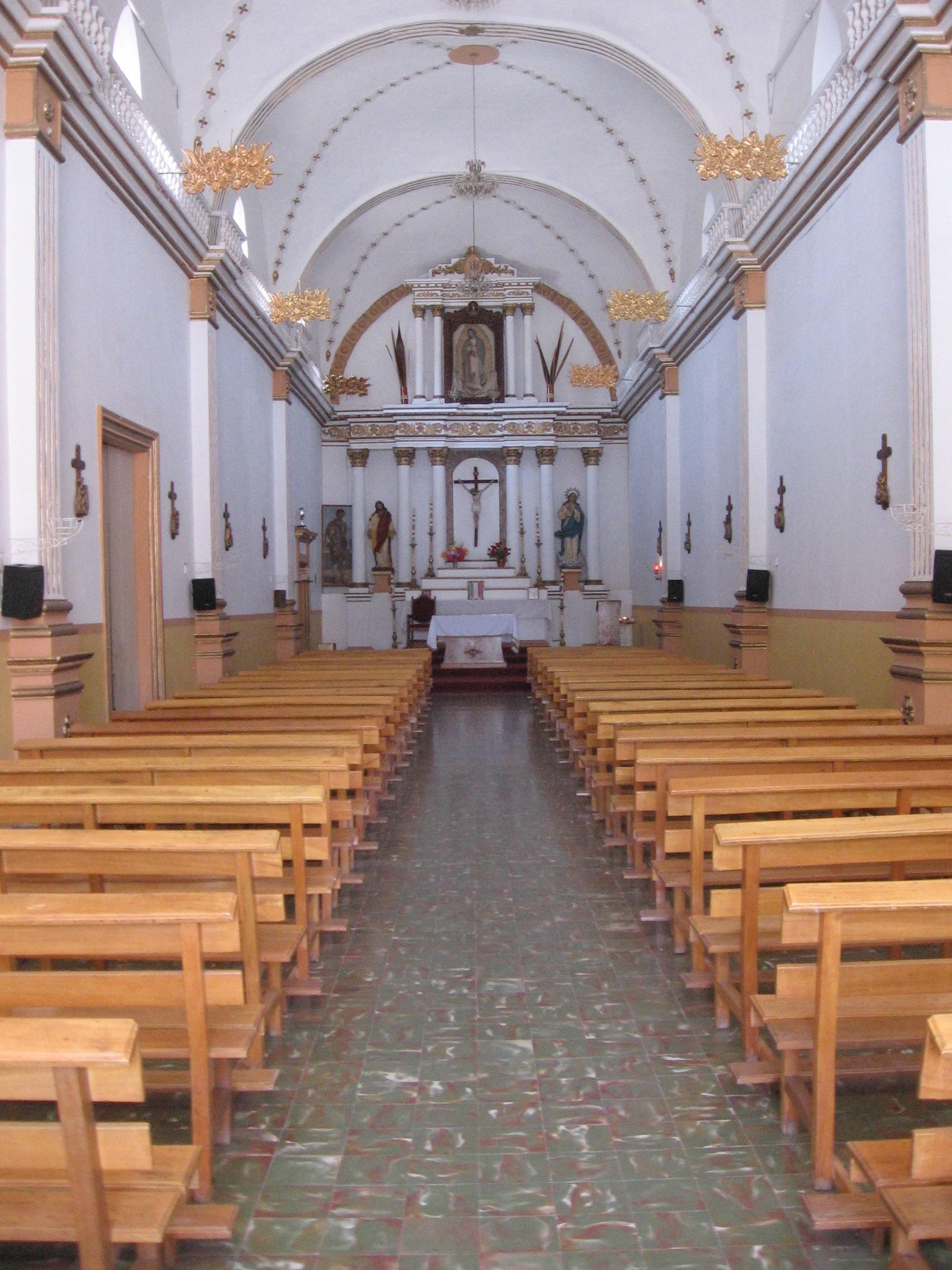 Filesan Gabriel Jalisco Interior Del Santuario De La Virgen De