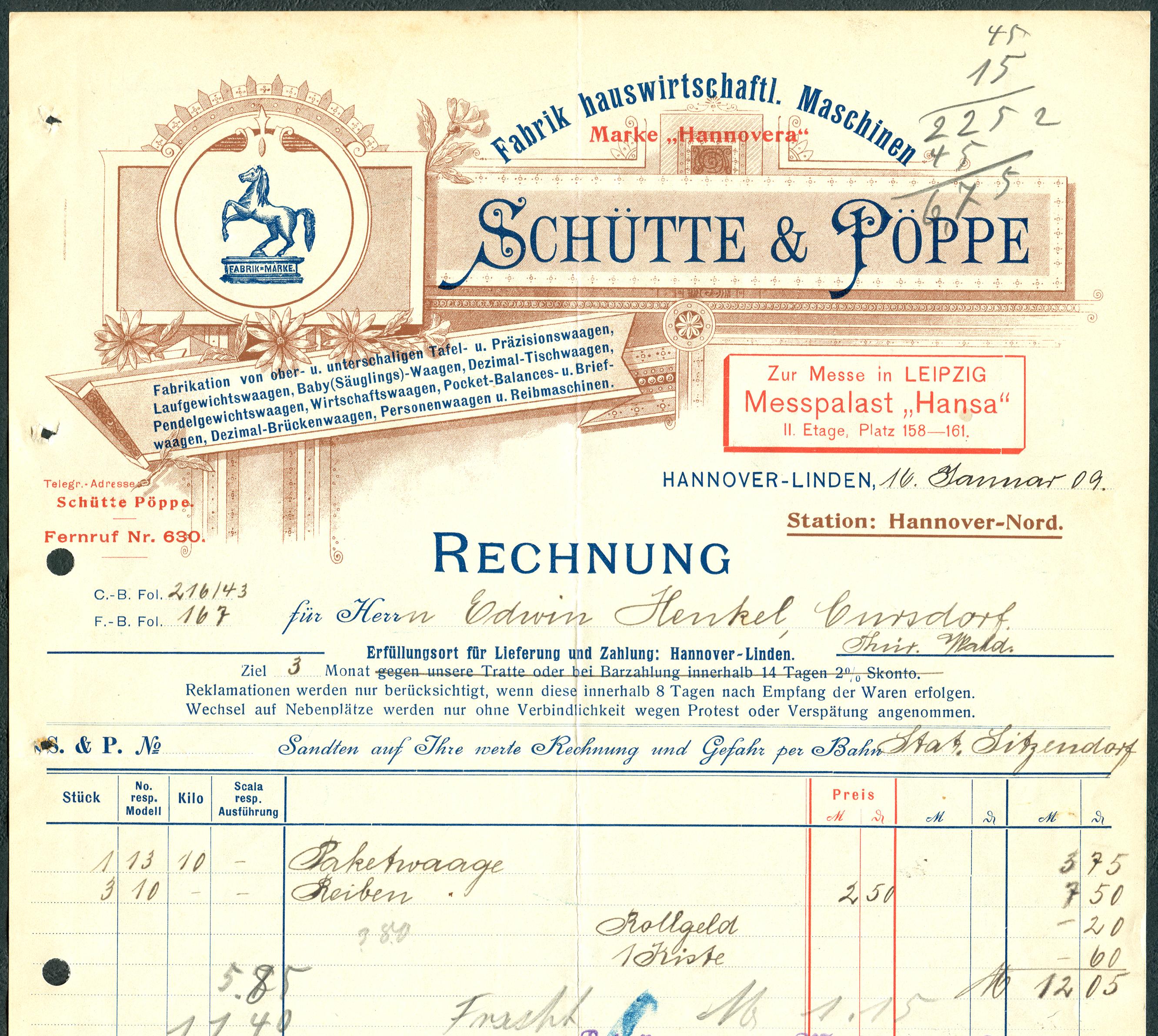 File:Schütte & Pöppe Fabrik hauswirtschaftlicher Maschinen Hannover ...