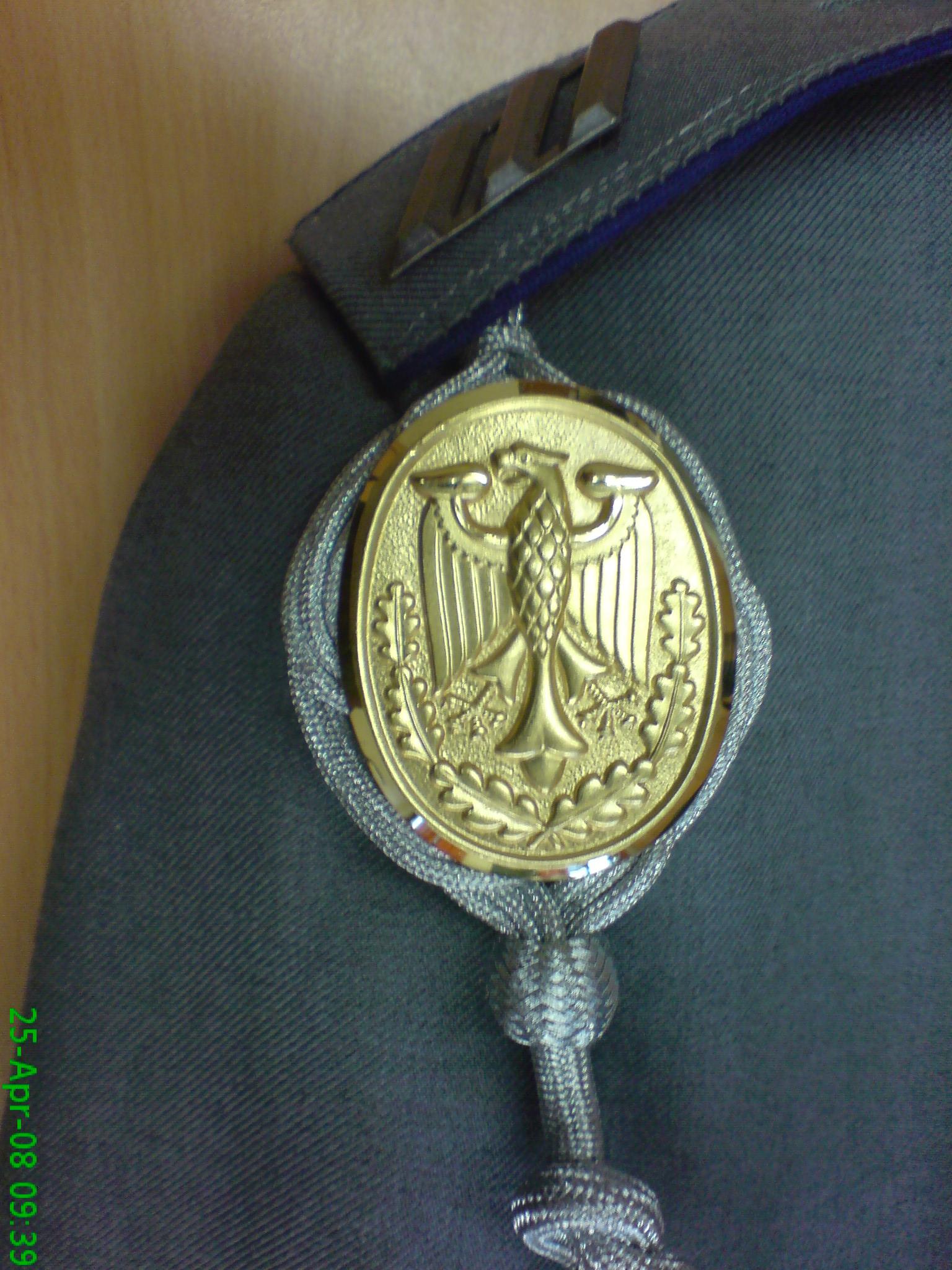 German Silver Marksman Schutzenschnur