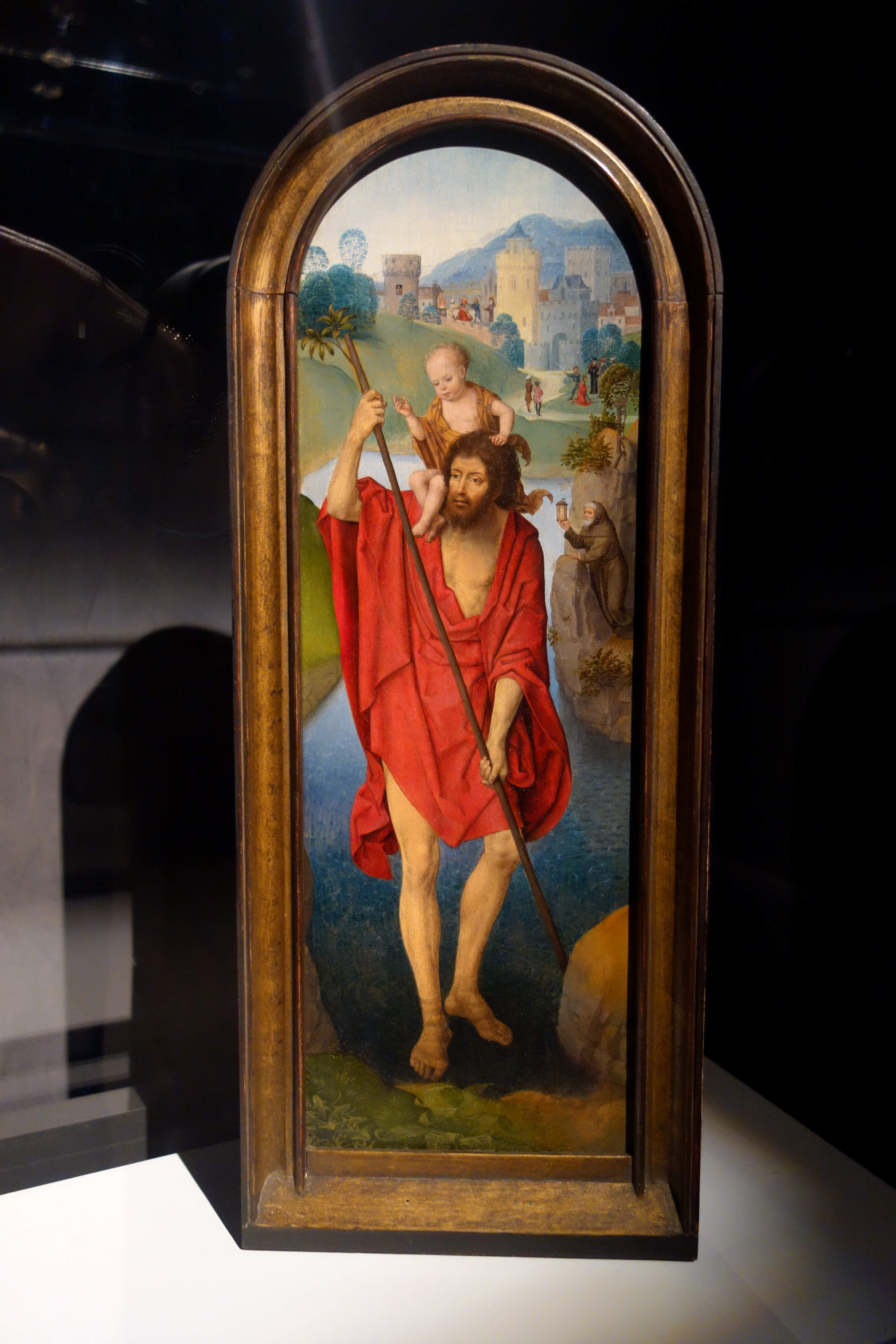 File:St. Christopher by Hans Memling, c. 1479-1480, oil