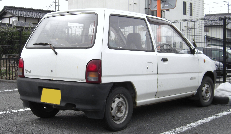 File Subaru Rex Rear Jpg Wikimedia Commons