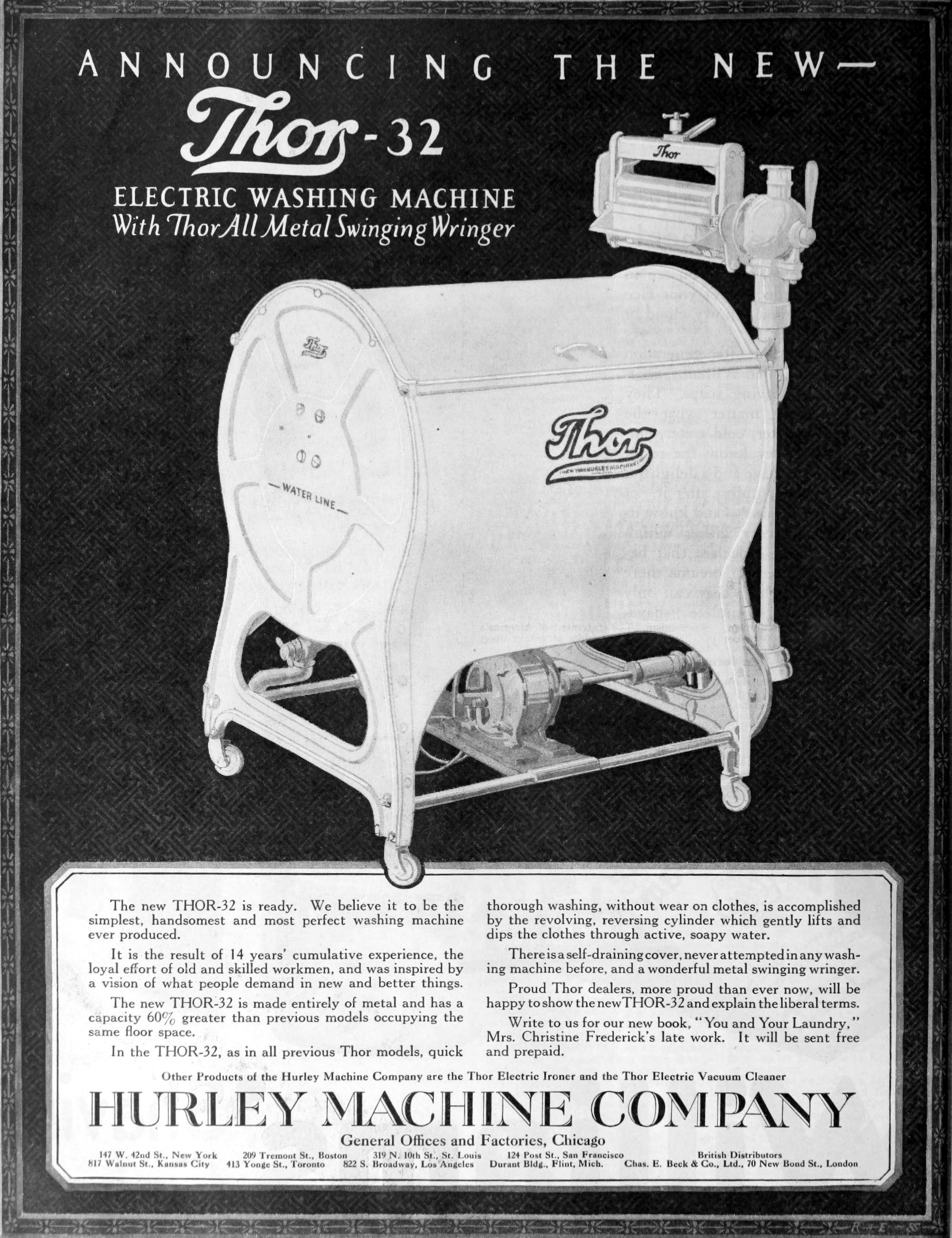 Thor Washing Machine Wikipedia