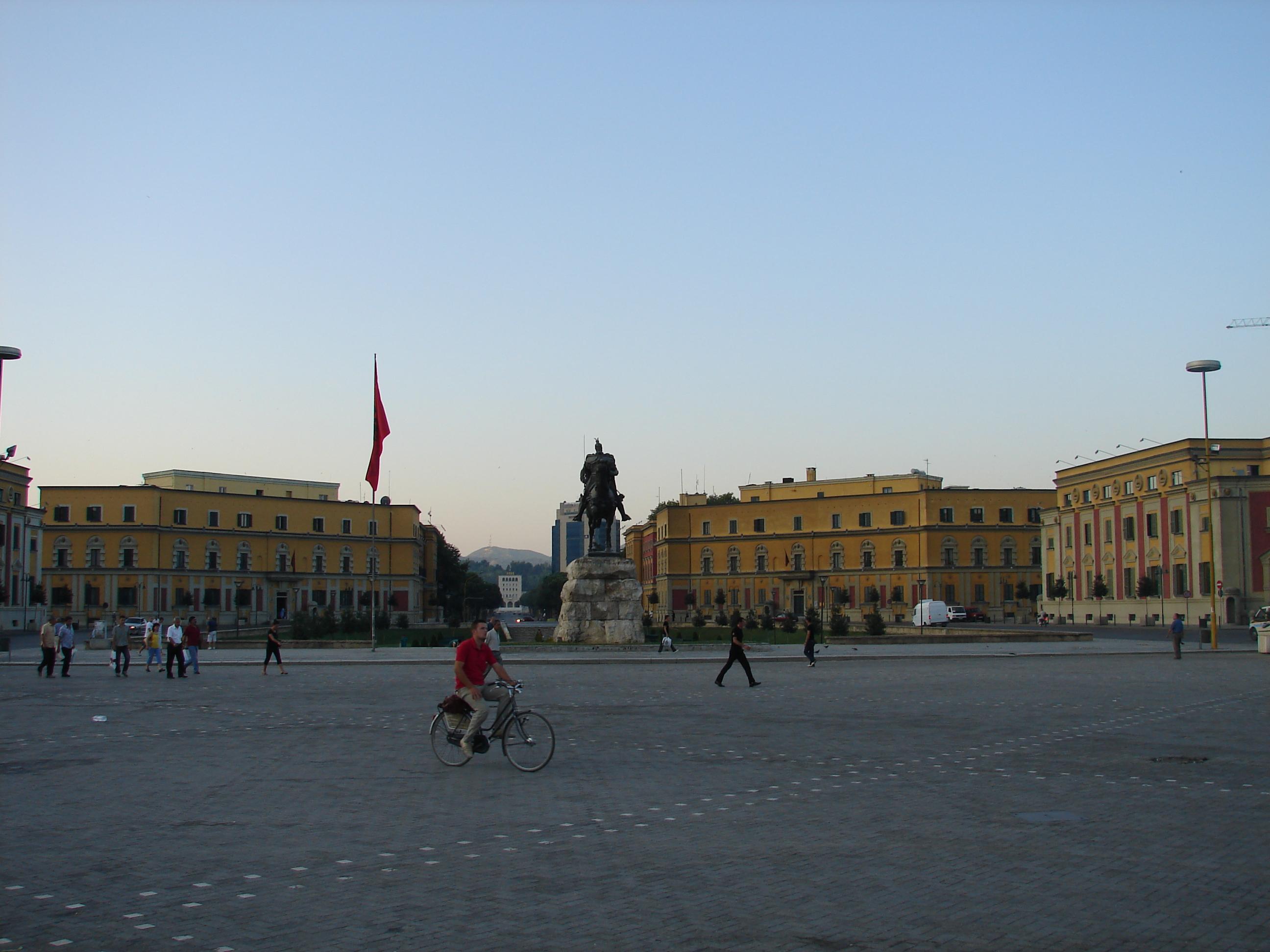 Tirana Skanderbeg Square - Tirana Wikipedia