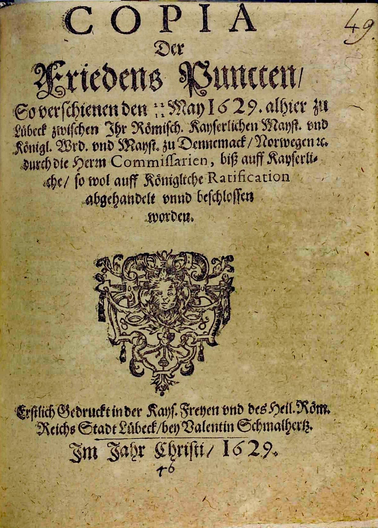Lübecker Frieden – Wikipedia