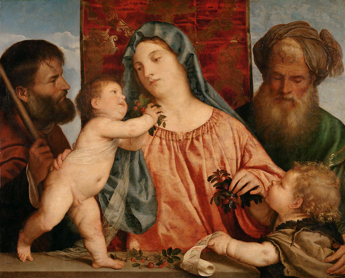 Madonna delle Ciliegie -1516/18 -Tiziano