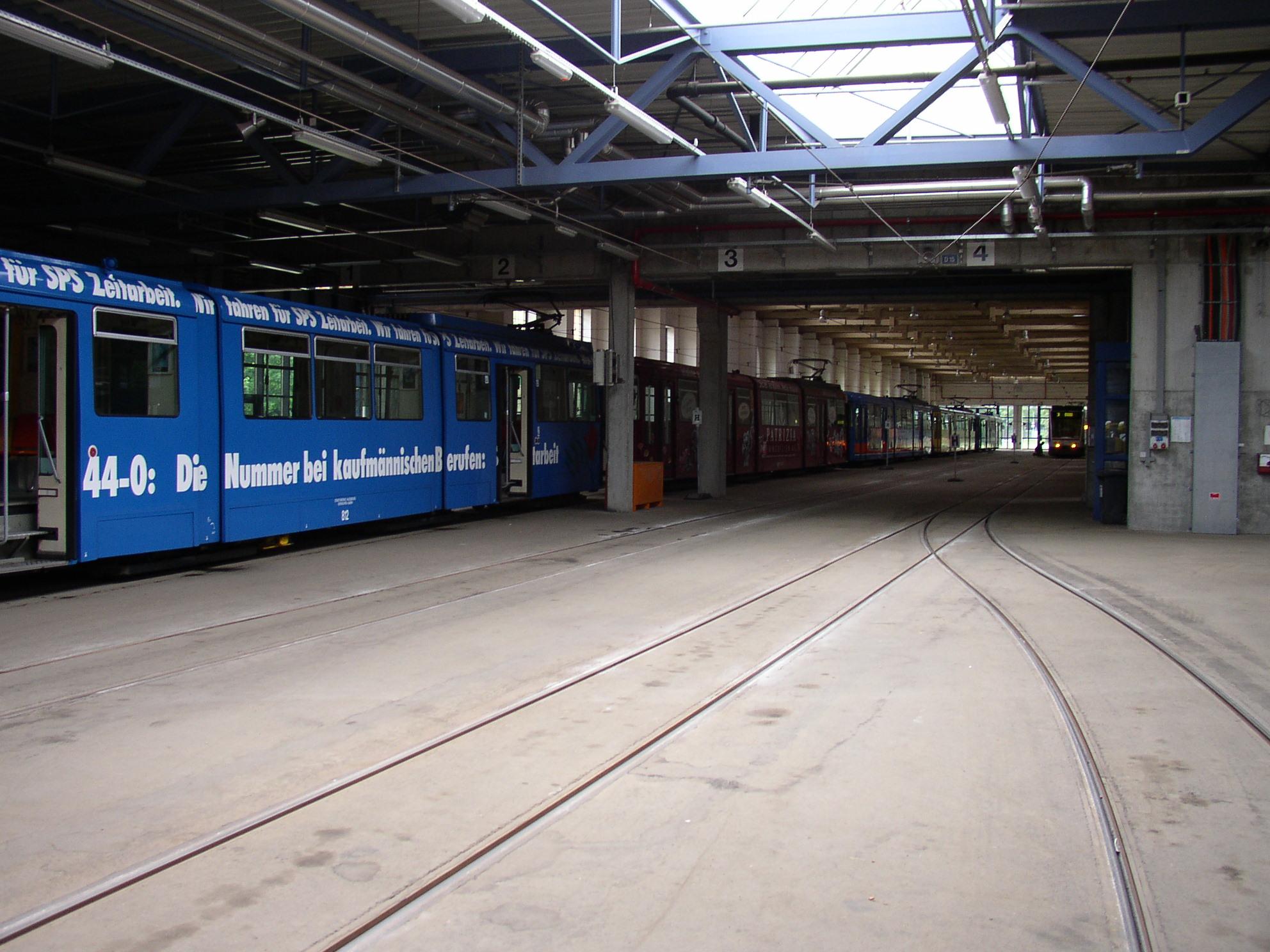 file tram depot