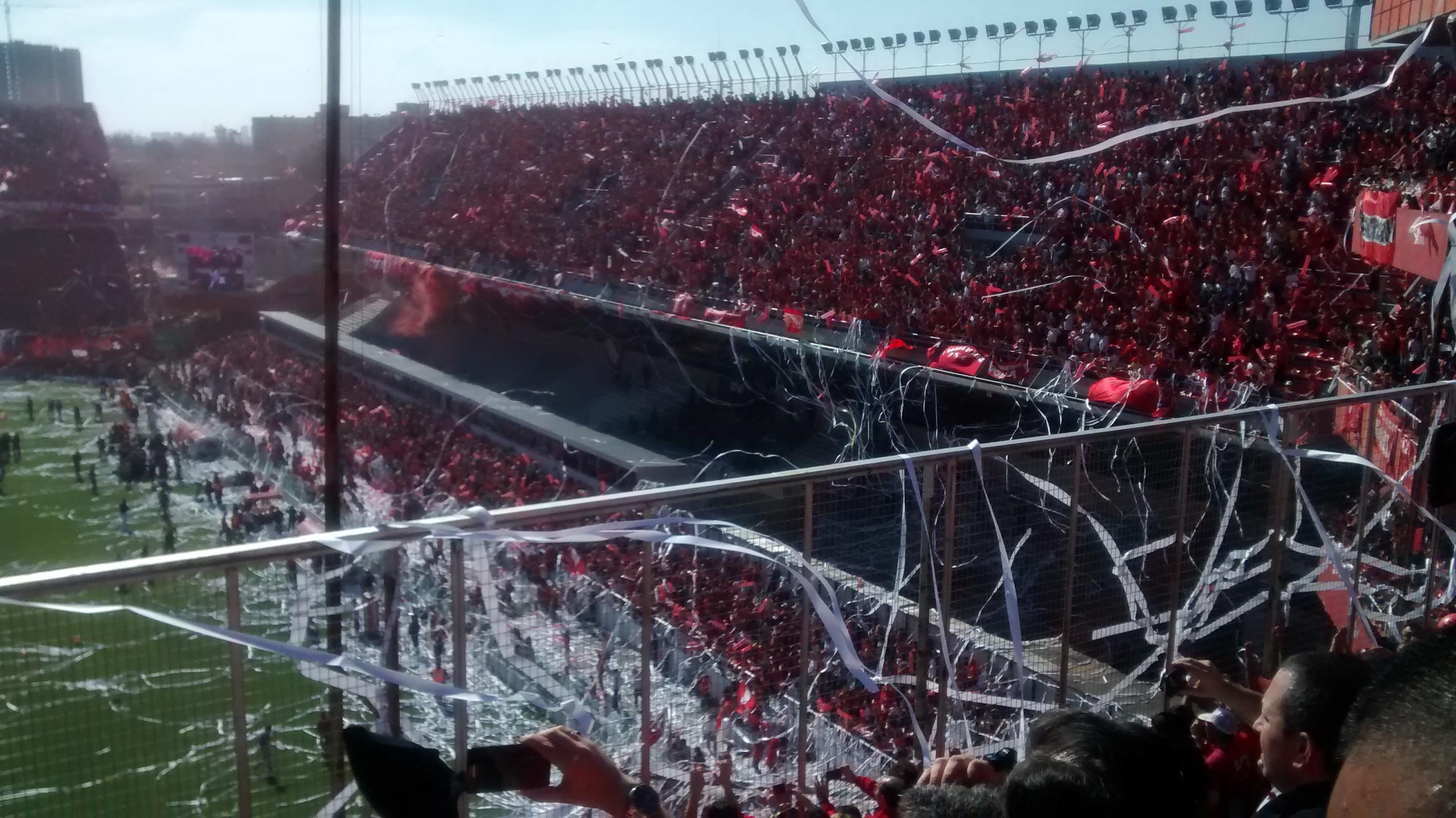 Estadio Libertadores de América actualmente