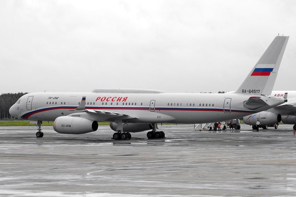 Ту-214ПУ, самолёт