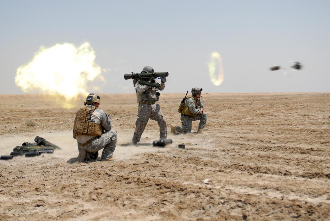 Iraq War Soldiers In Action