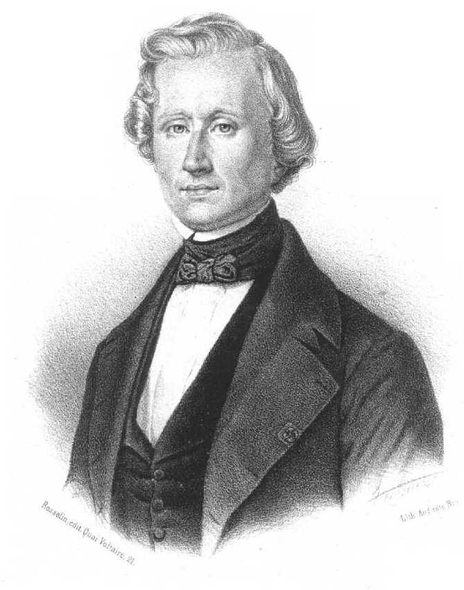 Depiction of Urbain Le Verrier