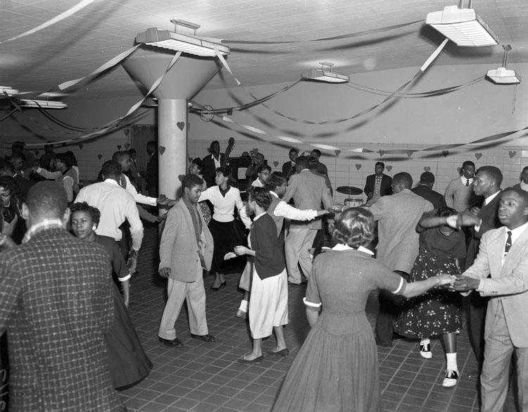 Title: Valentine dance, school. Creator: Adolph B. Rice Studio Date: February 15, 1956