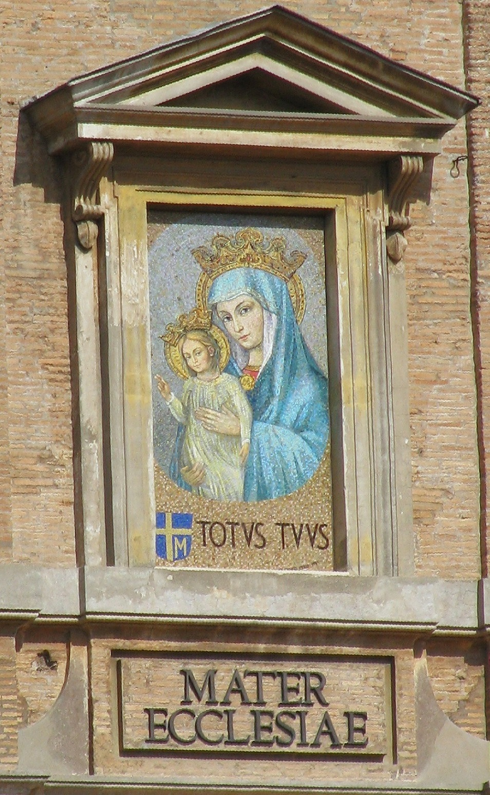 Risultati immagini per Mater Ecclesiae Maria