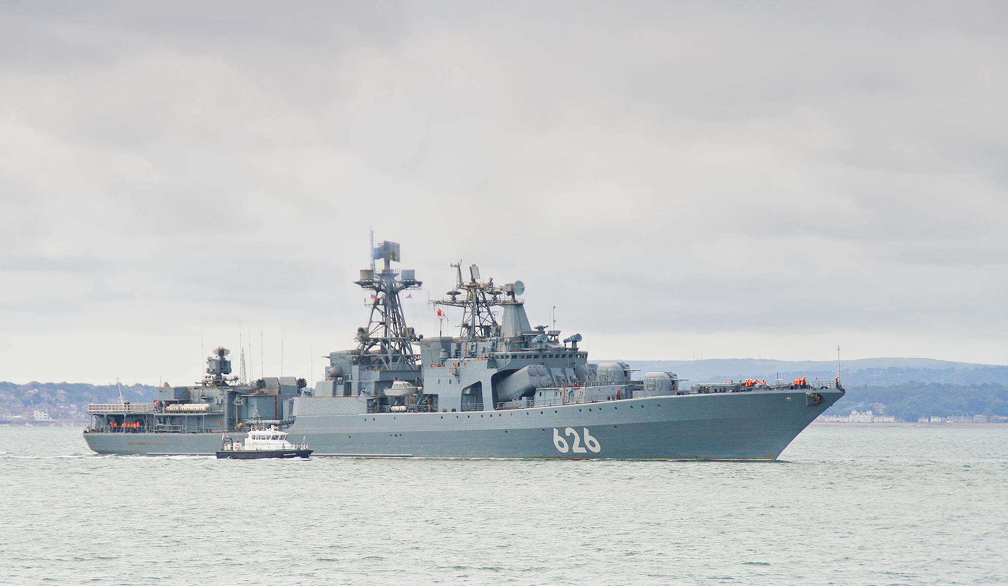 Russian destroyer Vice-Admiral Kulakov - Wikipedia