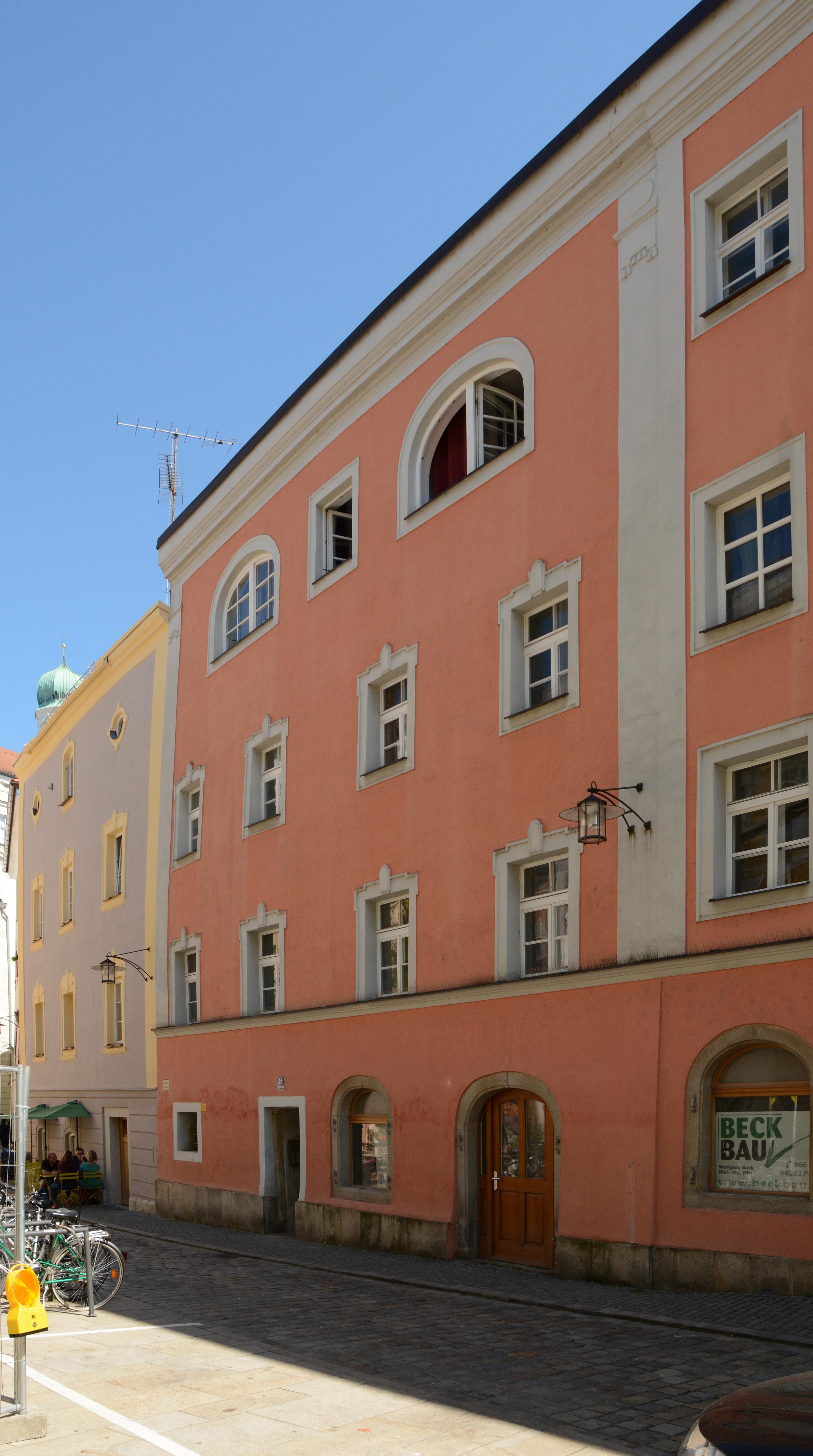 Dateiwohnhaus Unterer Sand 9 Passau Cjpg Wikipedia