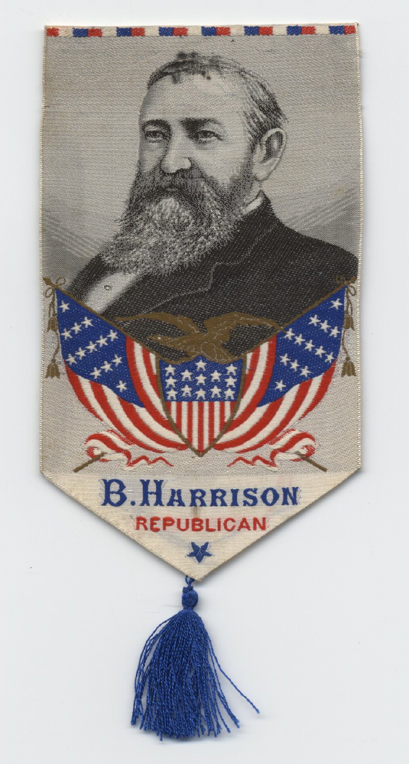 Benjamin Harrison Ribbon, 1888
