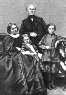 Со второй женой Е. И. Кубе и детьми