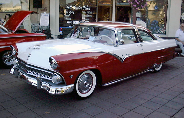 1955 ford wikipedia for 1956 ford crown victoria 2 door coupe