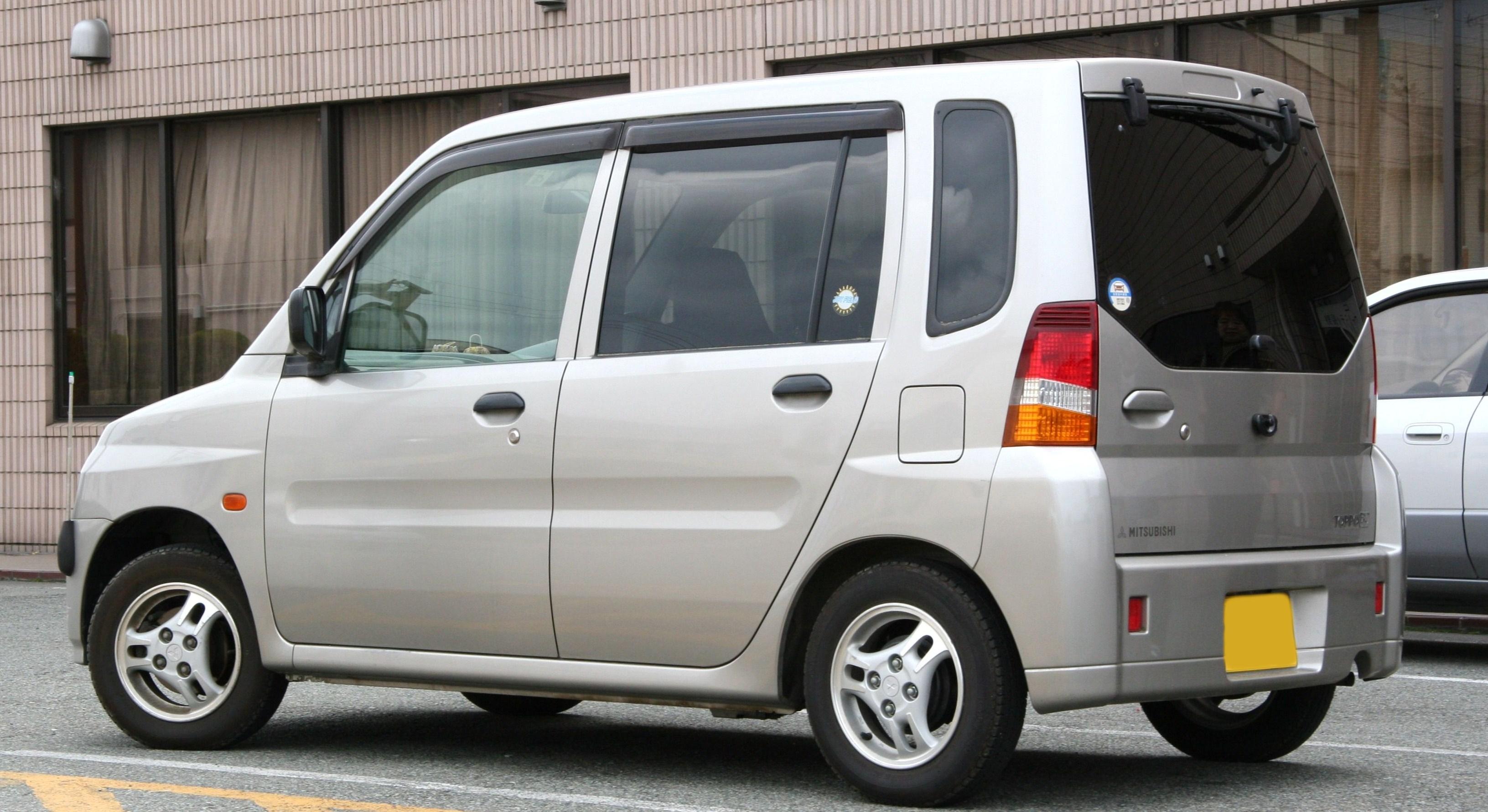 mitsubishi toppo, 1999