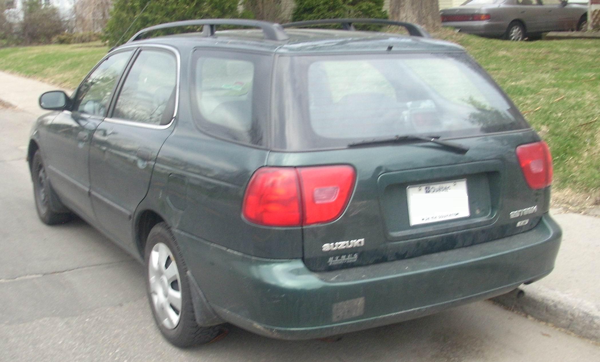 Suzuki Esteem Wagon Sele