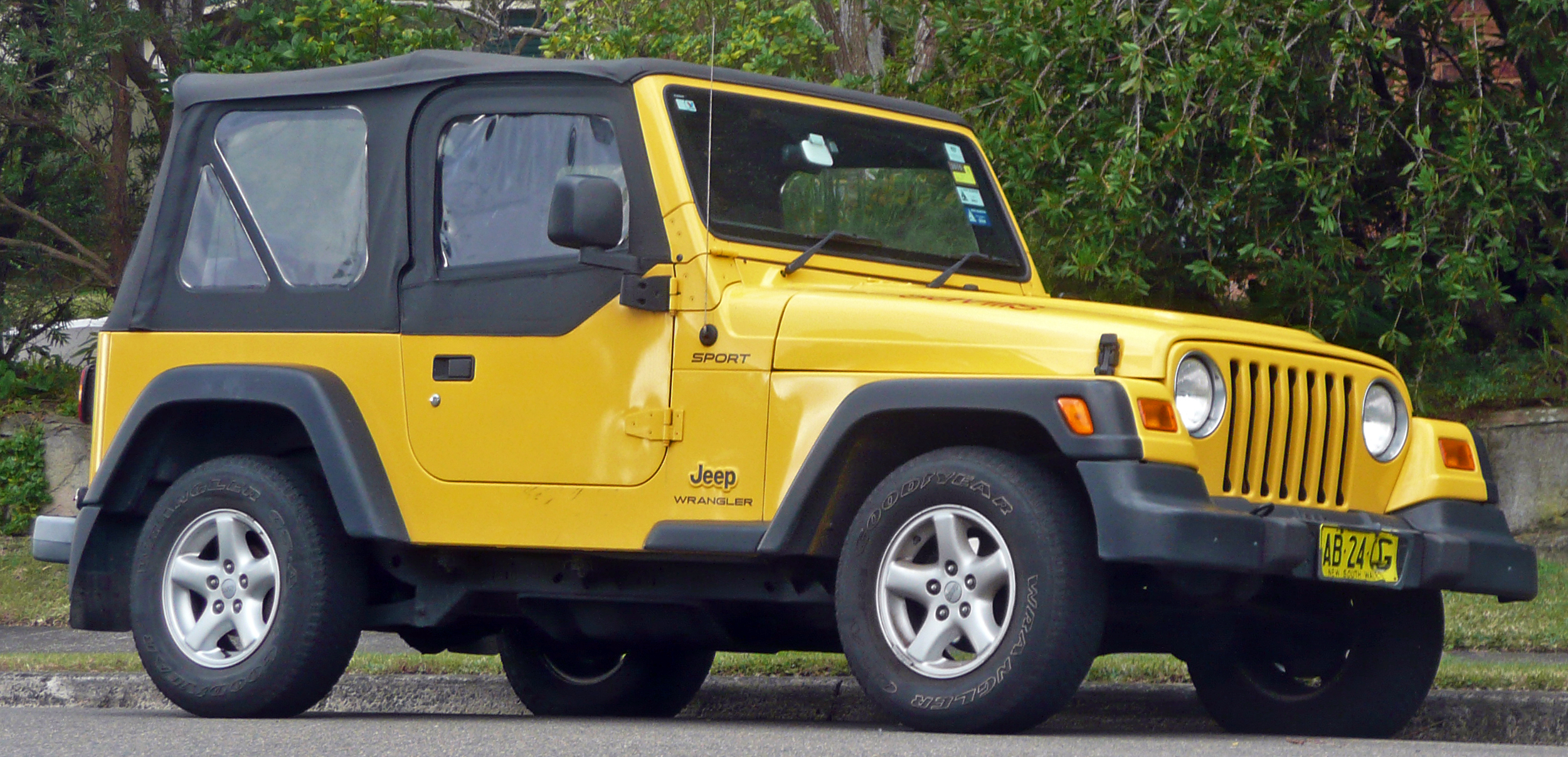 file 2002 2003 jeep wrangler tj sport softtop. Black Bedroom Furniture Sets. Home Design Ideas