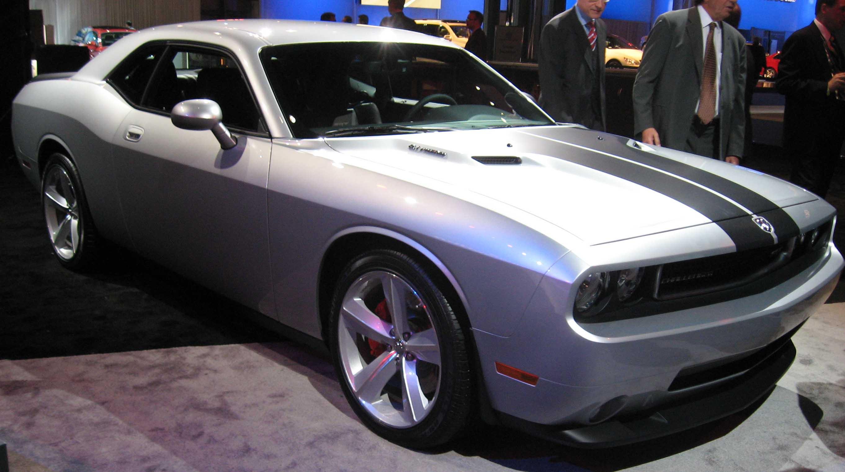 Description 2009 Dodge Challenger SRT-8 NY.jpg