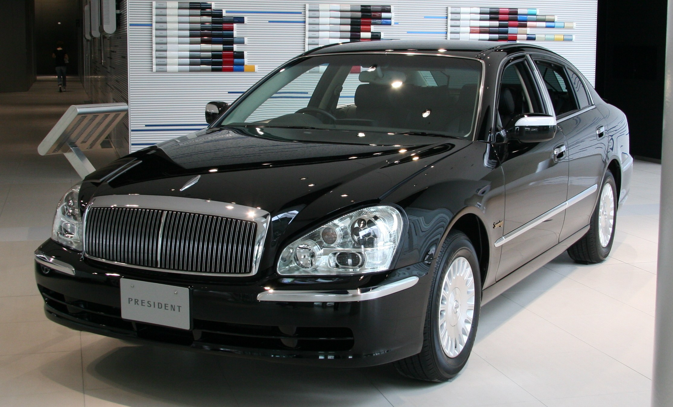 Nissan Luxury Brand >> Nissan President Wikipedia