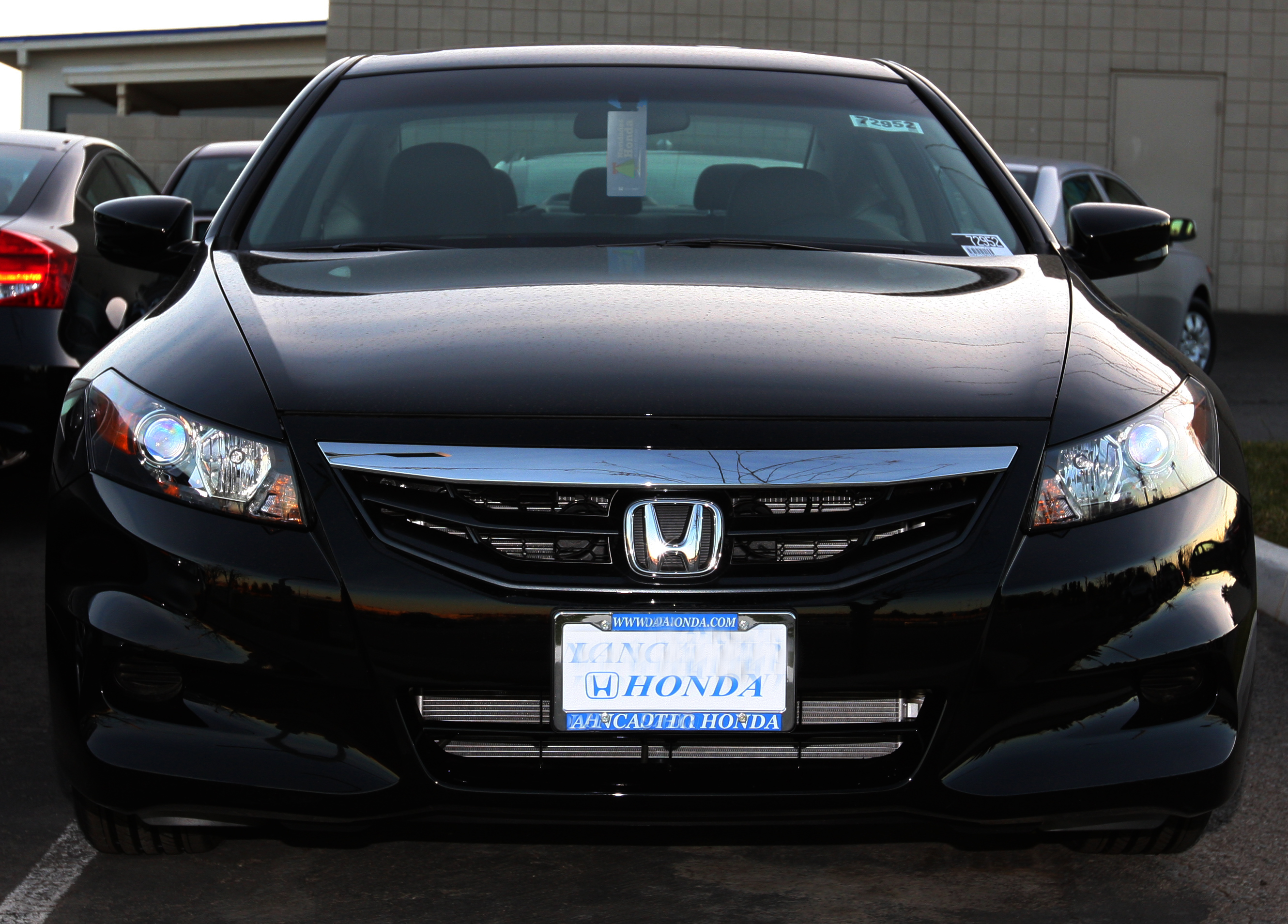 Honda Accord Coupe Touring Specs