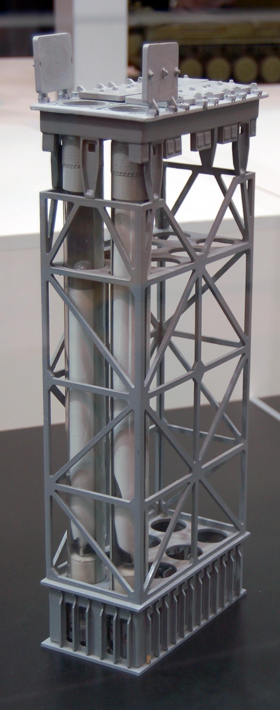 Kalibr missile system - Page 8 3S-14_launcher_maquette