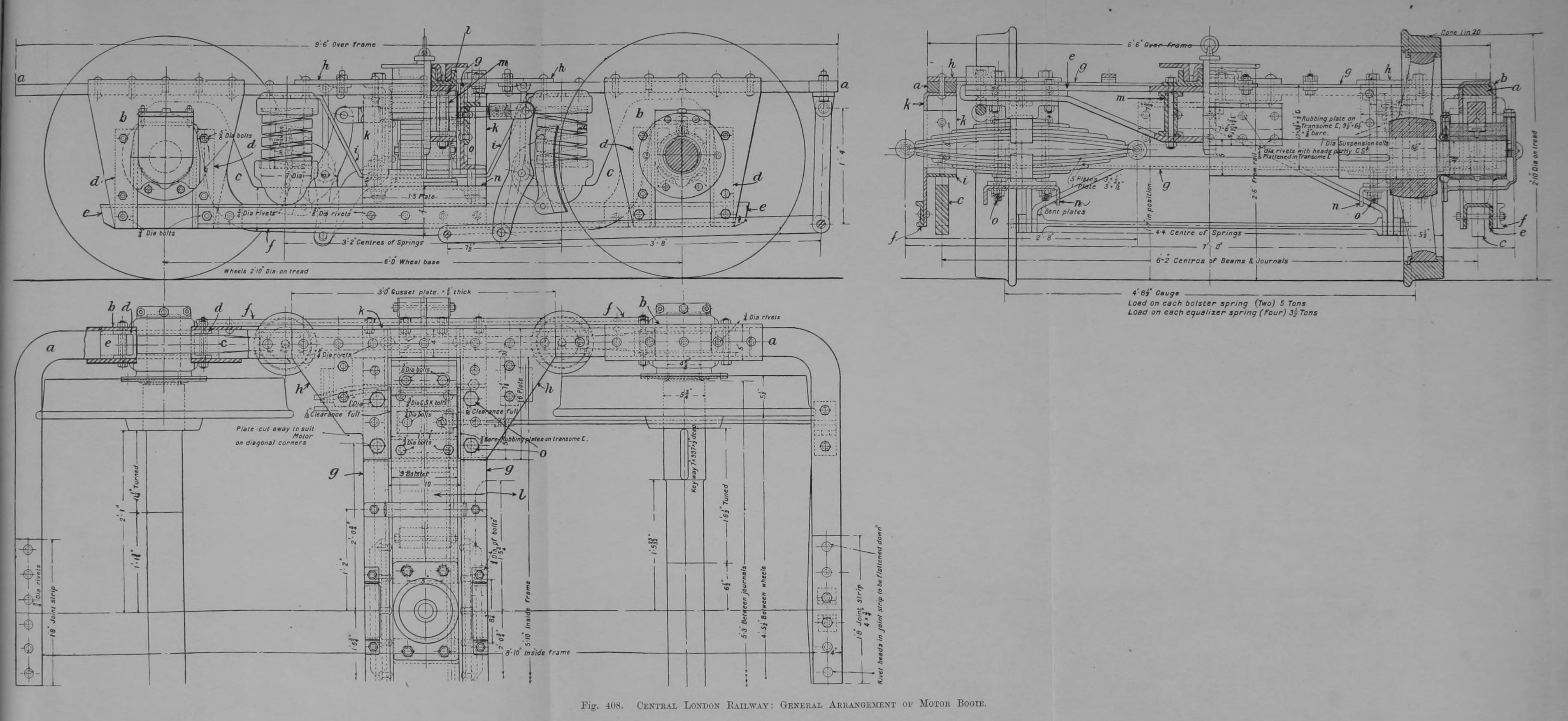 File 408 Central London Railway General Arrangement Of