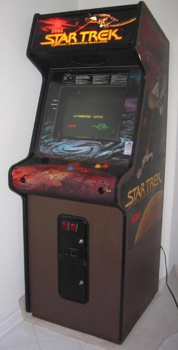 star trek arcade game wikipedia. Black Bedroom Furniture Sets. Home Design Ideas