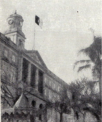 "The ""Monarchy of the North"" was proclaimed in Porto on 18 January 1919. A Bandeira Monarquica no Porto.png"