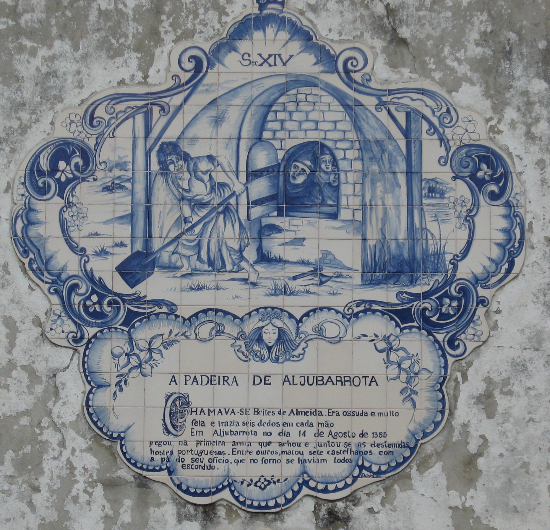 Padeira de aljubarrota wikip dia a enciclop dia livre for Azulejos historia
