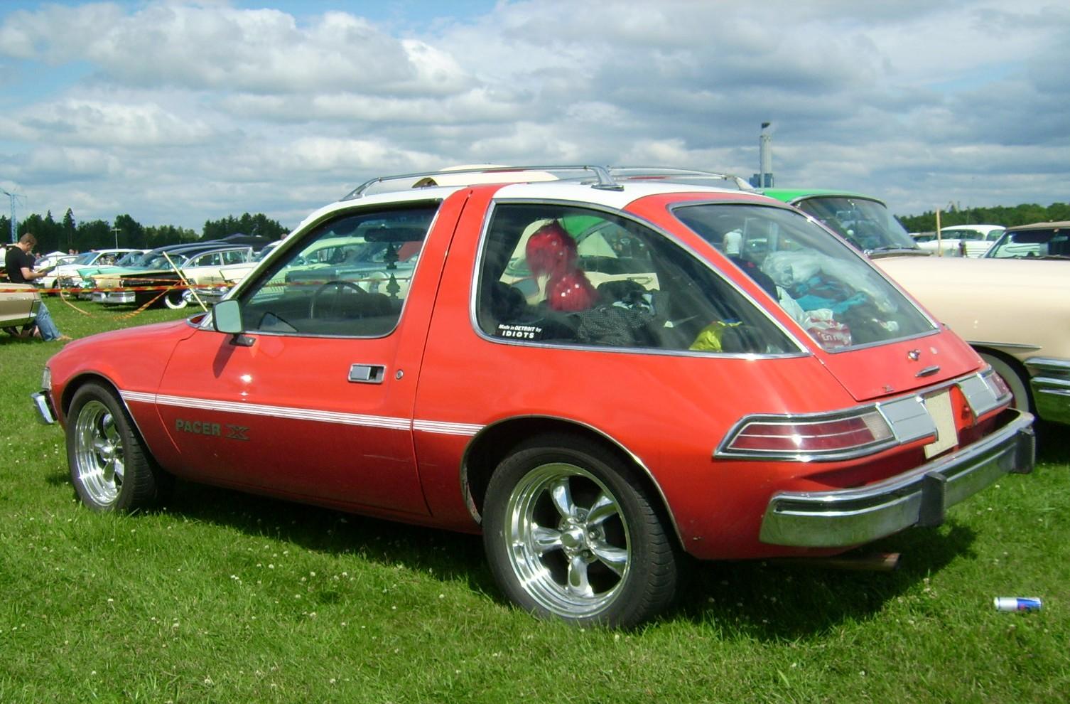 Description Amc... Pacer Car