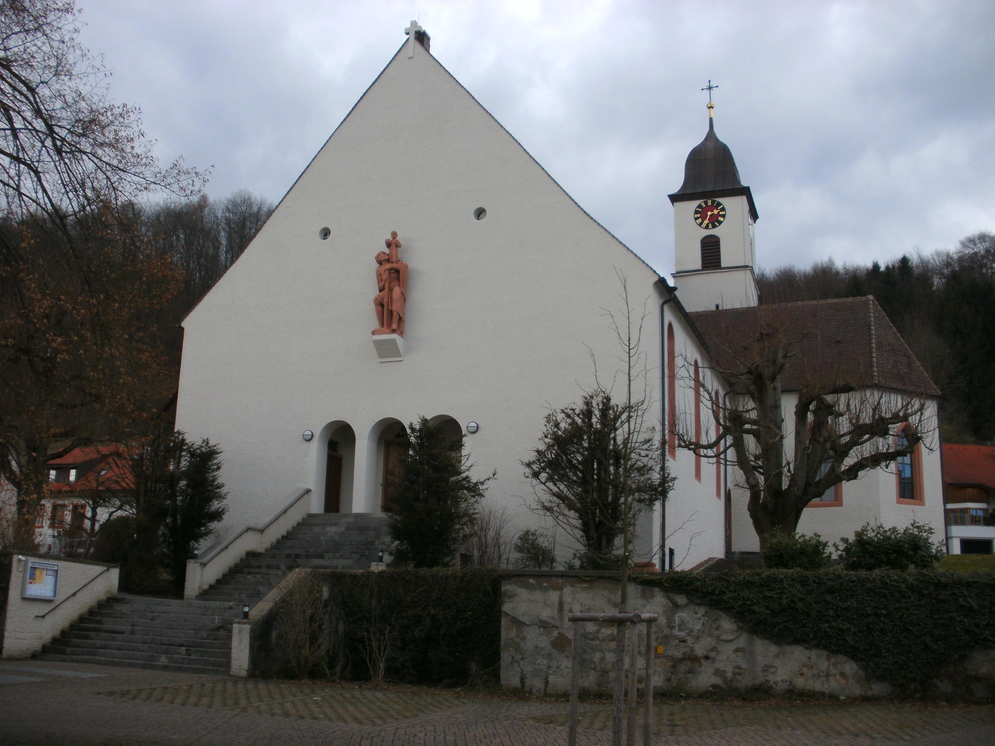 File ansicht kirche sankt felix und regula in rheinfelden baden ortsteil for Freibad rheinfelden baden