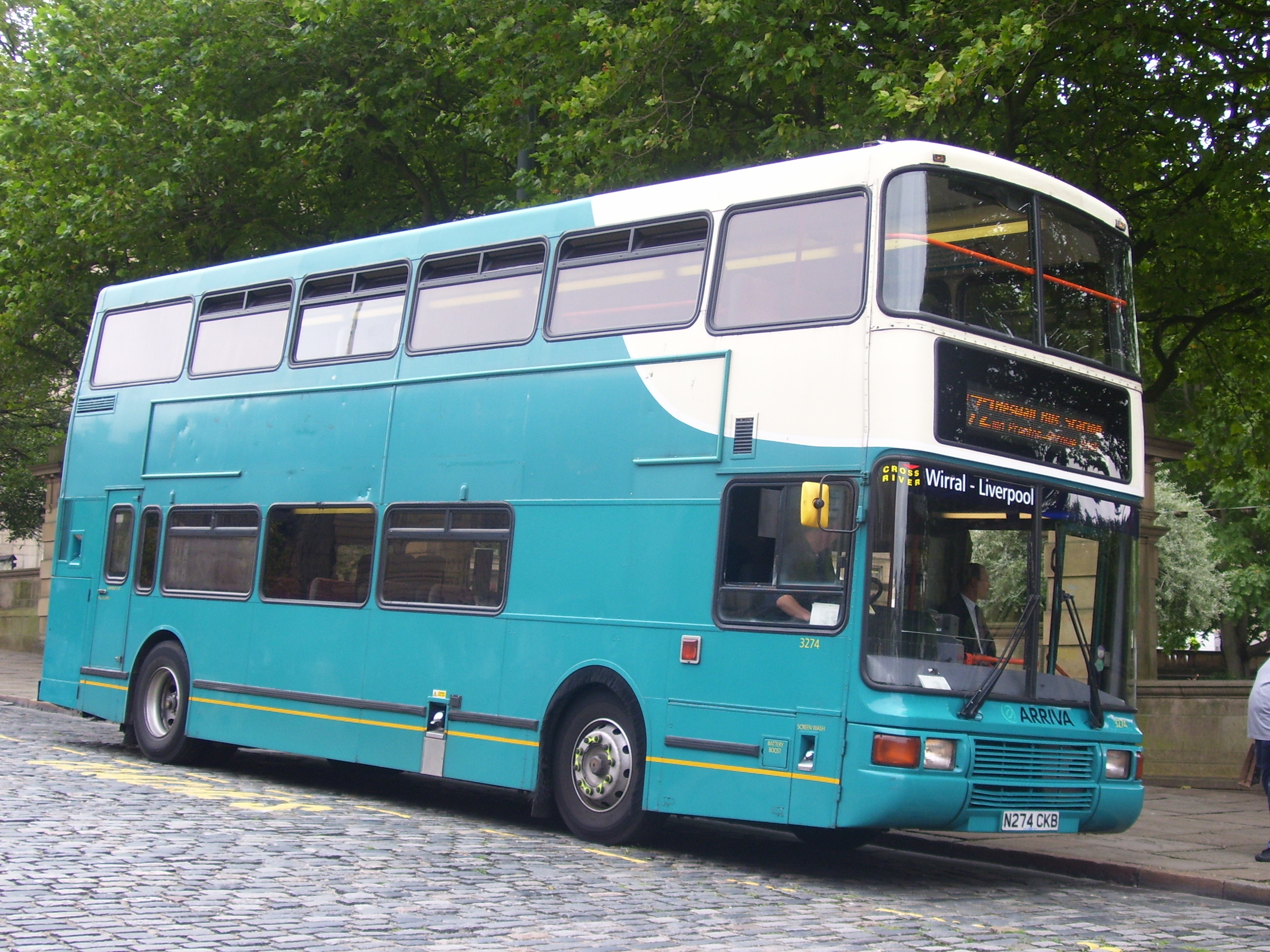 Volvo Olyimpian Palatine II Arriva_North_West_and_Wales_3274