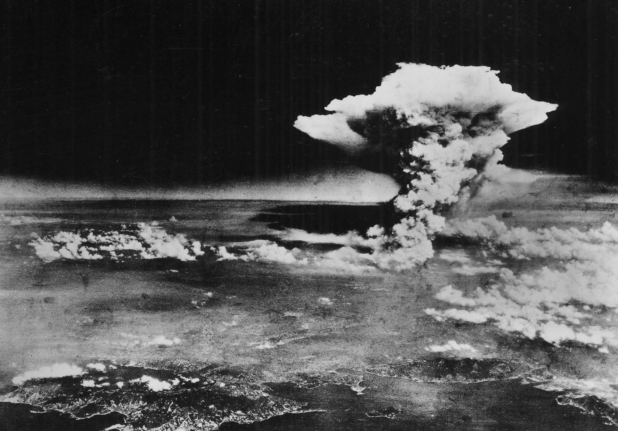 Taken From: https://upload.wikimedia.org/wikipedia/commons/8/8a/Atomic_cloud_over_Hiroshima_(from_Matsuyama).jpg