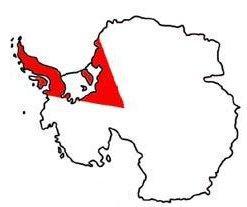 Položaj Britanskoga Antarktičkog teritorija