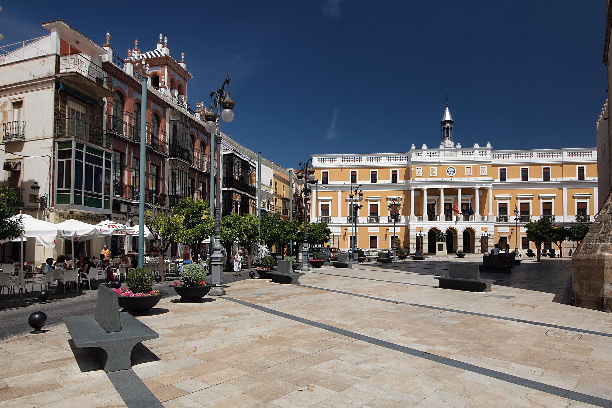 Autotransport nach Badajoz