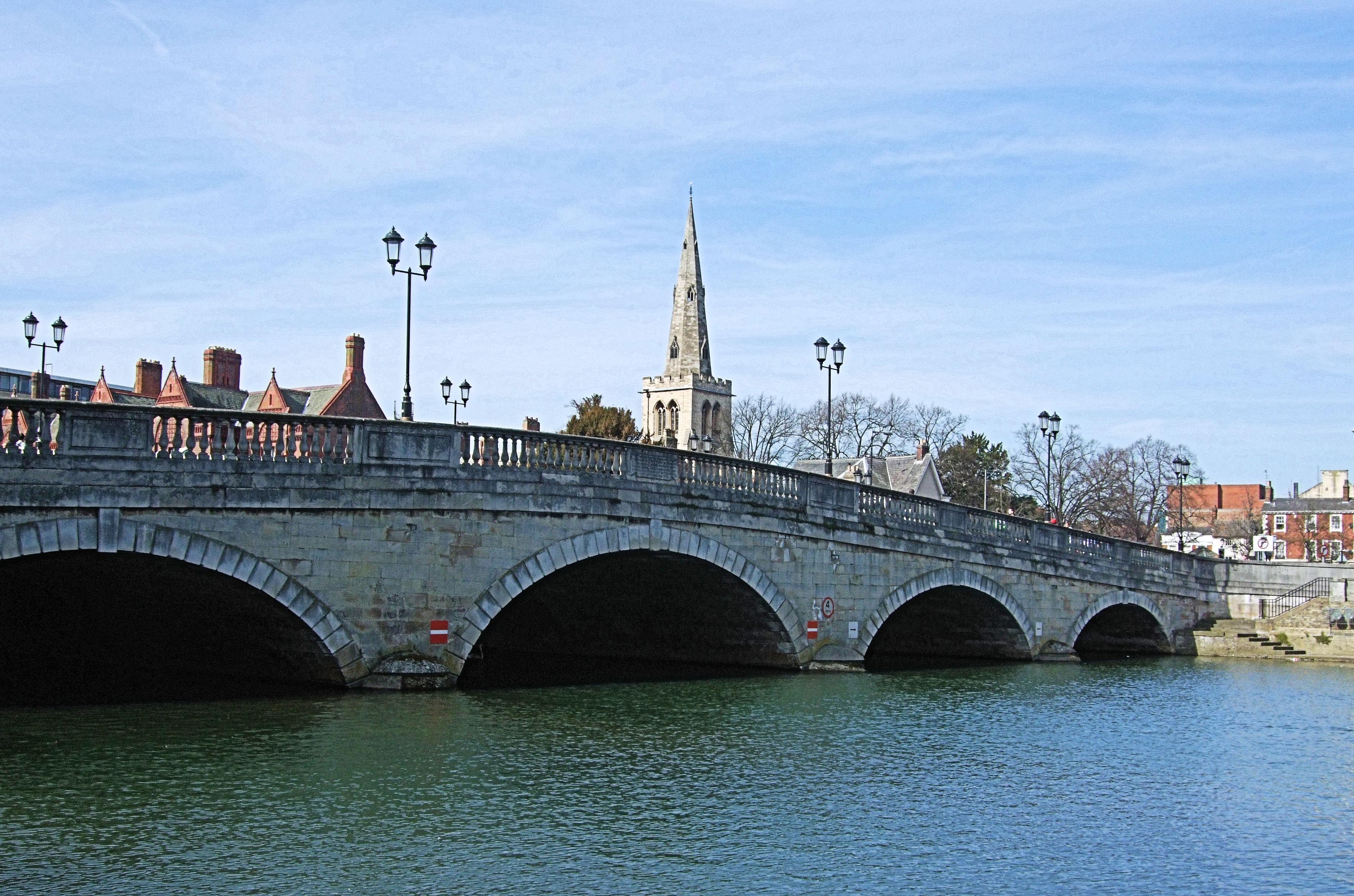 bridge on the river - photo #22